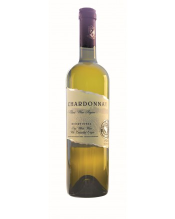 Chardonnay 2014 0,75l - Pivka Winery